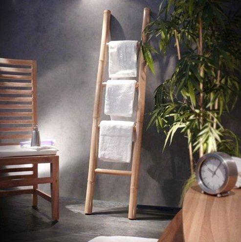 Porte Serviette Bambou Home Decorate Wish List Towel Rack