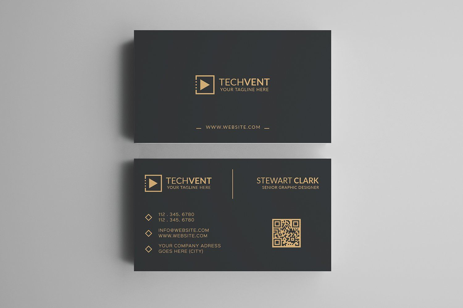 Gold Minimal Business Card Business Cards Creative Templates Business Cards Creative Minimal Business Card