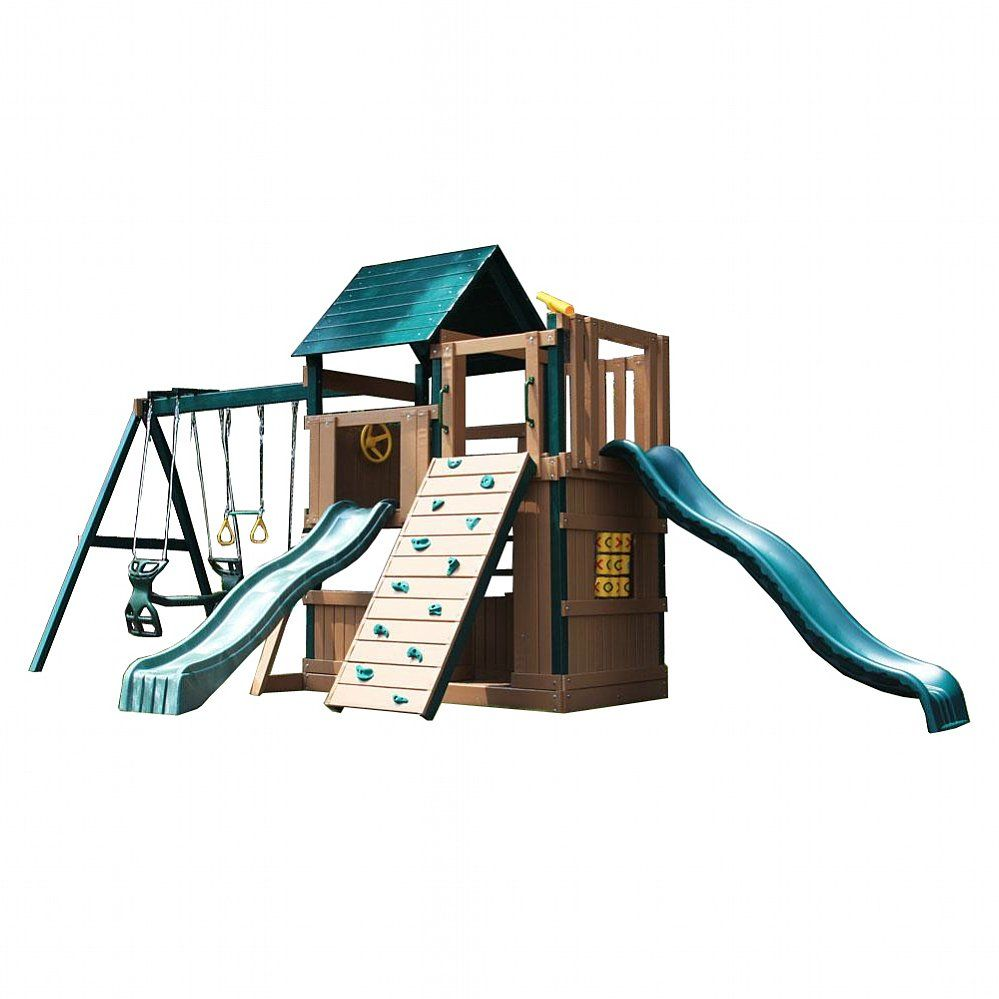 Congo Safari Lookout And Climber Swing Set Buy Swing Sets