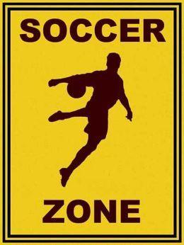 Art4kids 21503 Soccer Zone Contemporary Mount Soccer Soccer Ball Soccer College Football