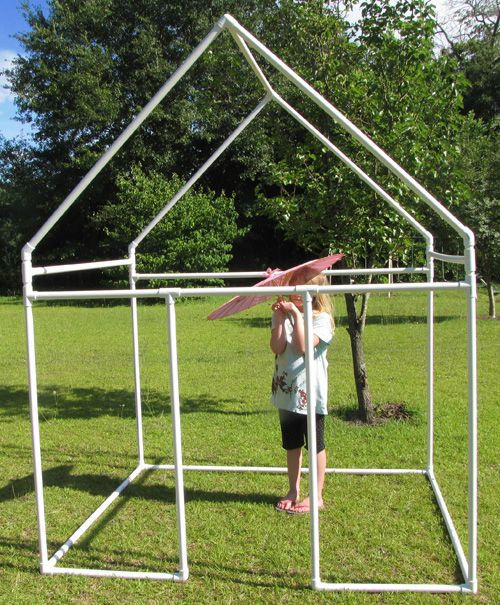 Fast And Easy Pvc Kids Fort For Under 60 Play Houses