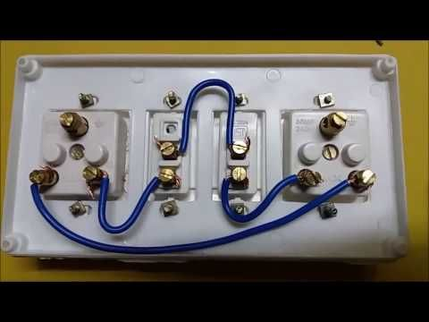 Two Way Switch Connection Type 3 In Tamil Two Way Switch Wiring Diagram Youtube Extension Board Electricity Electric Board