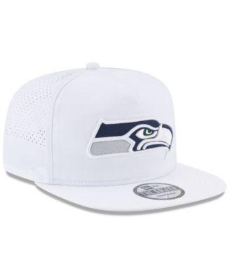 New Era Seattle Seahawks Training A-Frame Cap - White Adjustable ...