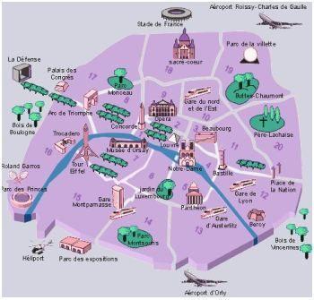 Cartina Arrondissement Parigi.Quartieri Di Parigi Gli Arrondissement Viaggiare A Parigi Parigi Parigi Mappa