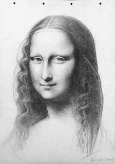 La Gioconda Mona Lisa Mona Mona Lisa Drawing