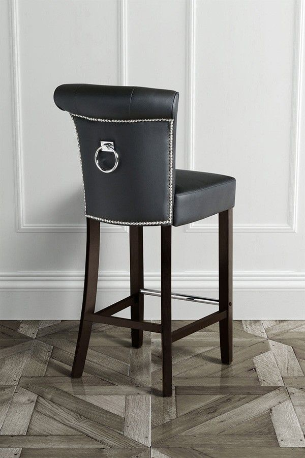 Awesome Tufted Back Bar Stools