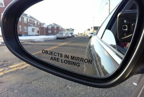 A mirror decal that'll jokingly let you live out your Fast & Furious dreams — though it's best you stick to the speed limit at all times.