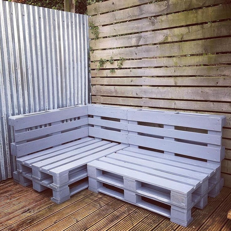 easy pallet benches Pallets