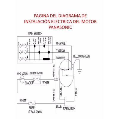 Motor Ventilador Doble Eje Panasonic P Aire De Ventana 220