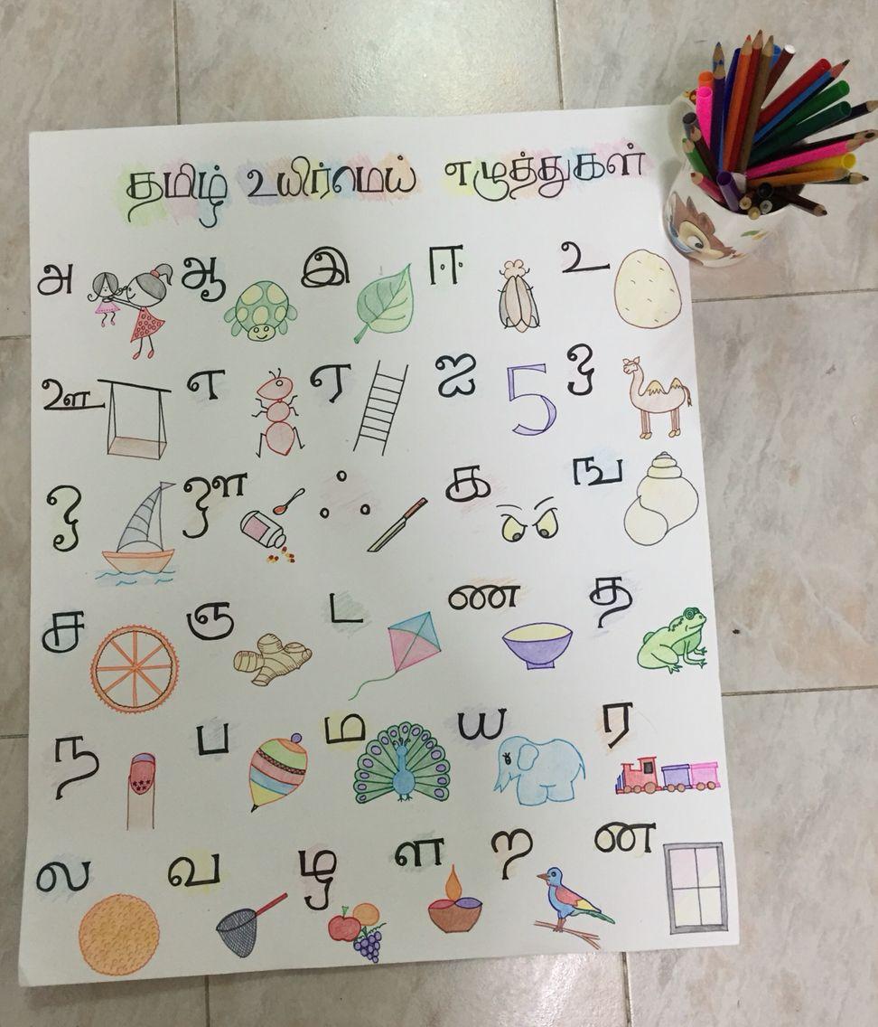 Workbooks tamil handwriting practice worksheets : Tamil Alphabet Chart Diy | Tamil | Pinterest | Alphabet charts