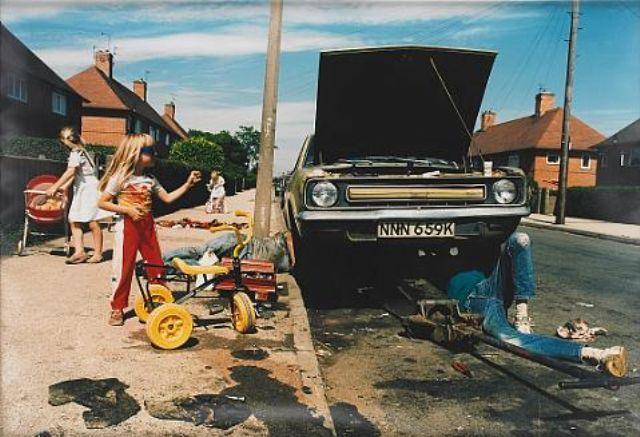 Nick Waplington From The Series Living Room