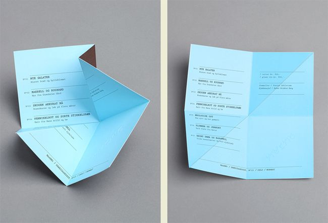maaemo-folded-invoice-designs Graphics Pinterest Invoice design - invoice designs