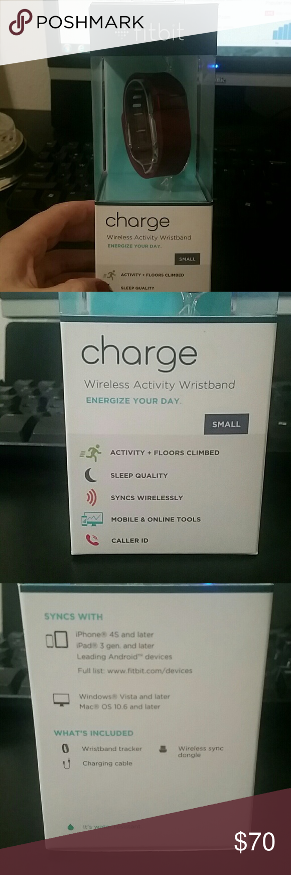 Fitbit Charge Maroon Fitbit New Fitbit Accessories Watches Activity Wristband Fitbit Accessories Latest Ipad