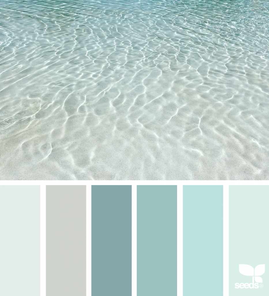 Color Sea Paint Colors For Home Beach Color Palettes Paint Color Schemes