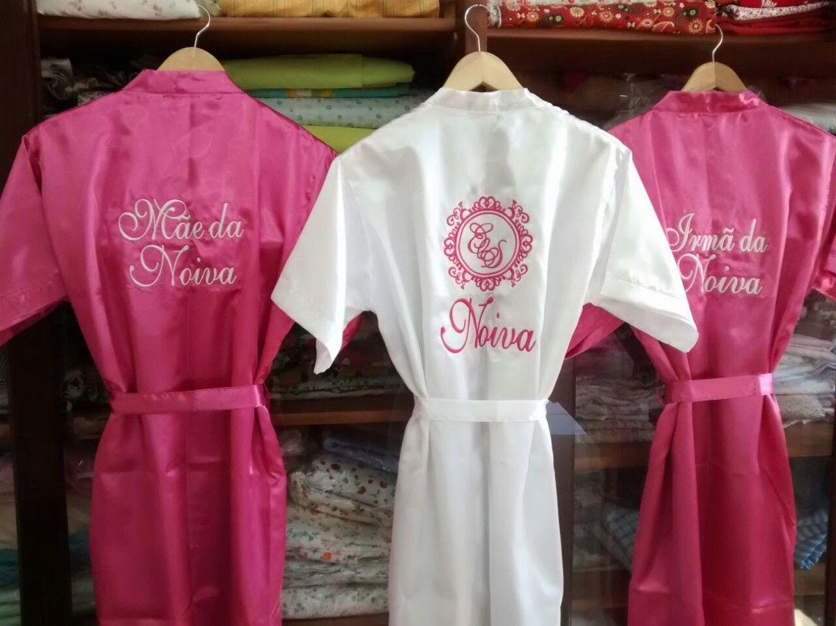 ca4c9b4b1 PROMOÇÃO - Robes na promoção por tempo limitado! Roupão em cetim COLOR