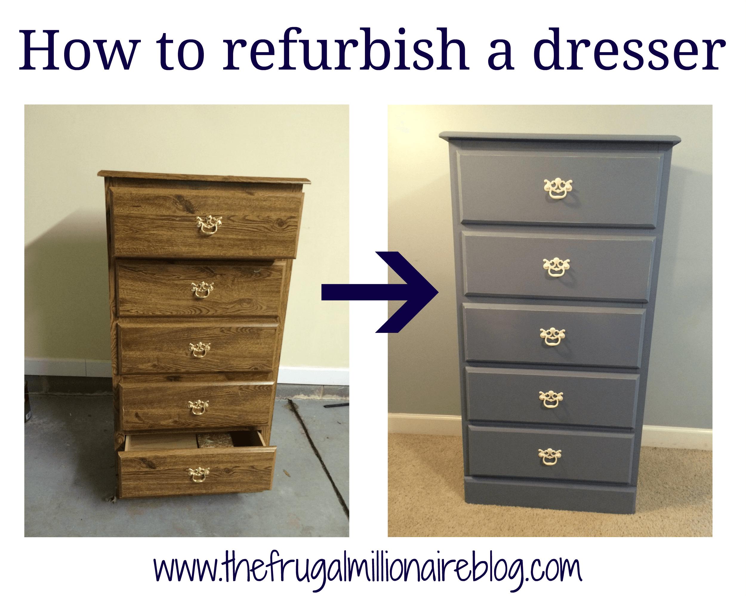 My Refurbished Dresser Refurbished Furniture Dresser
