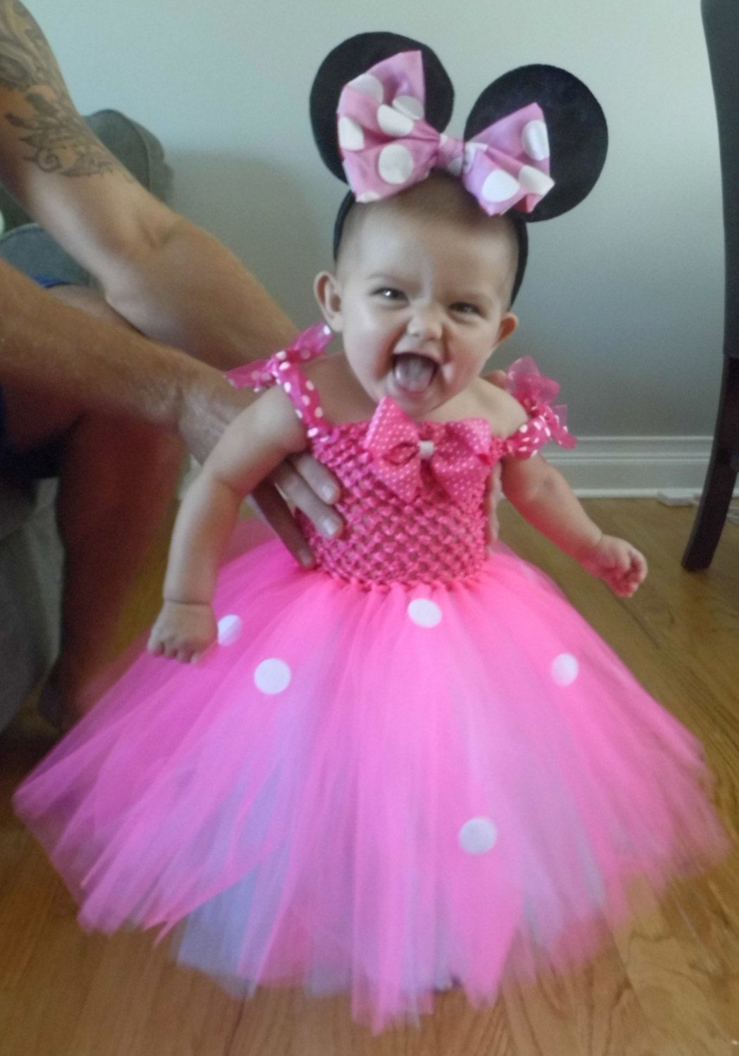 Minnie Mouse tutu Halloween Costume by ericabilezikjian on Etsy $35.00  sc 1 st  Pinterest & So cute!!! Minnie Mouse tutu Halloween Costume by ericabilezikjian ...