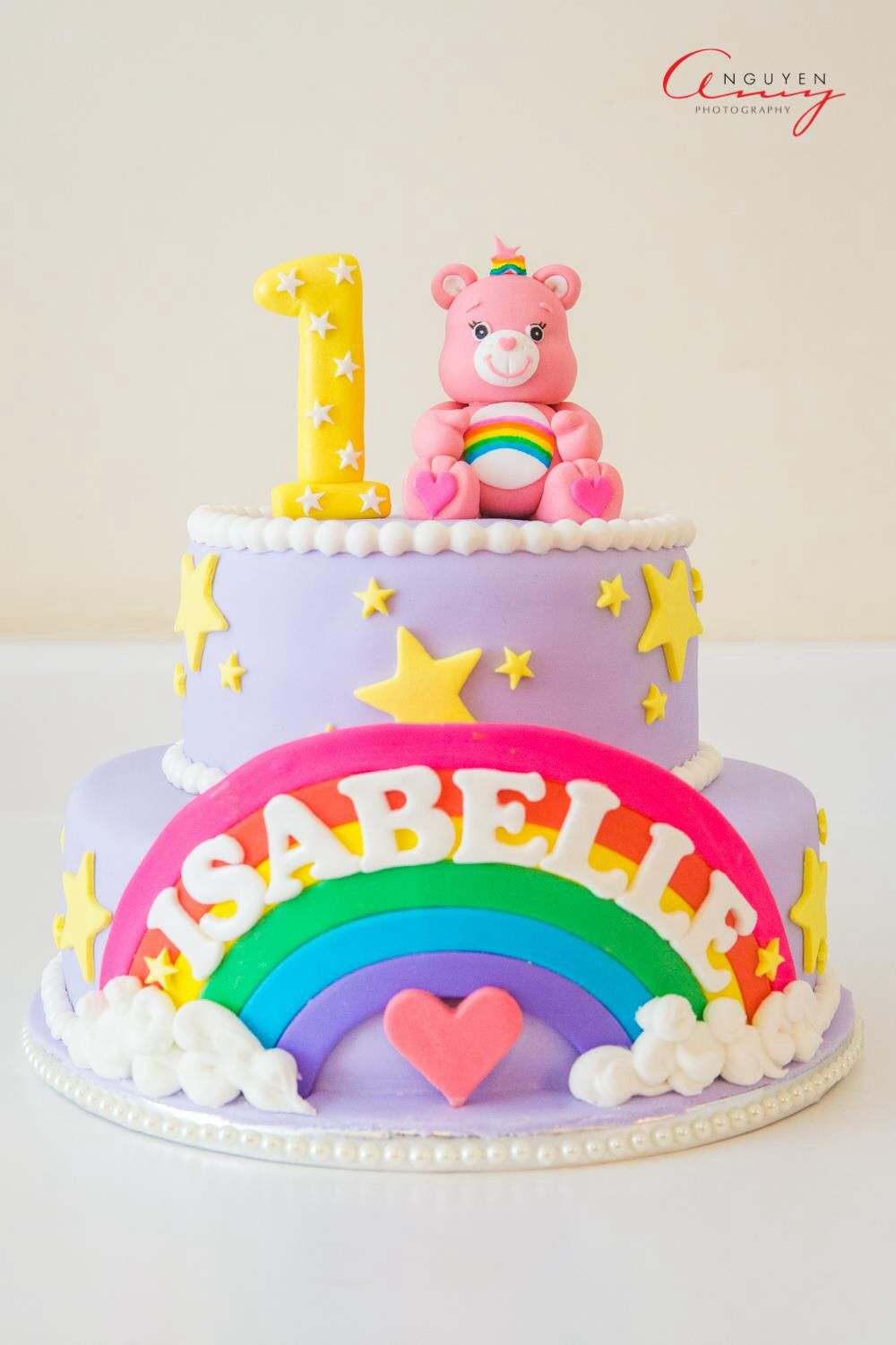 Cool Care Bear Cake With Images Birthday Cake For Him Birthday Cards Printable Benkemecafe Filternl