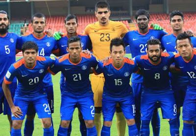 Information Driven Blog Vaikundarajan On India S 6 1 Victory Over Laos At Asian Cup Qualifier Football Team Football Football And Basketball
