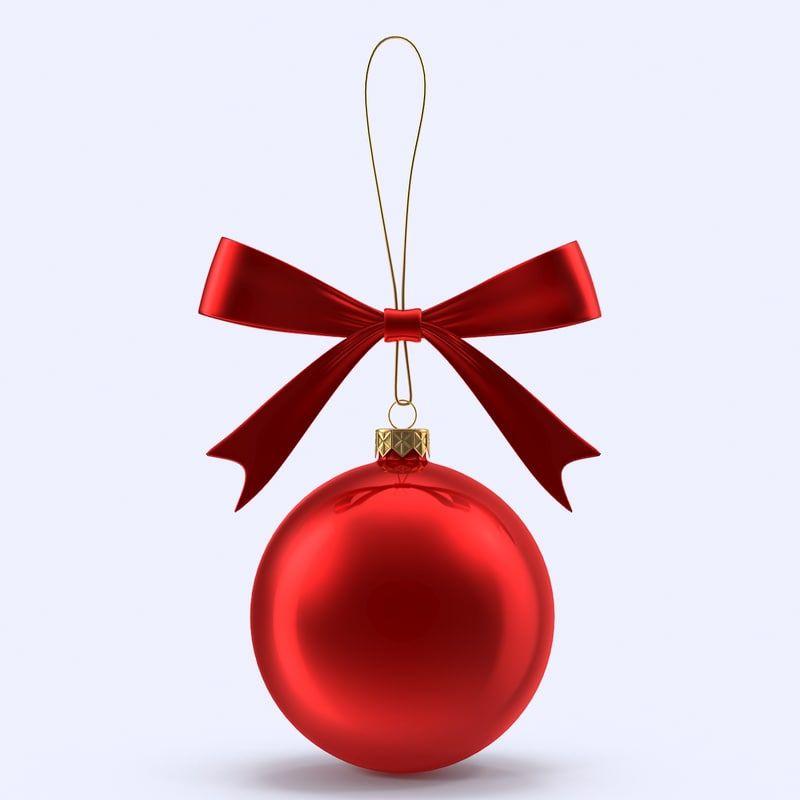 Christmas Ball 3d Model Christmas Balls Christmas Christmas Ornaments