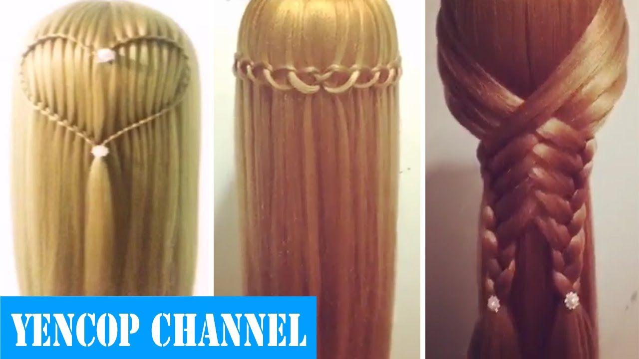 5 Peinados Faciles Y Rapidos Y Bonitos Con Trenzas P9 Peinado 2015 Peinados Faciles Y Rapidos Videos De Peinados Faciles Peinados Faciles