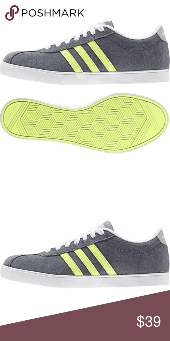 Adidas neo courtset zapato de sport casual de moda zapatos de los deportes