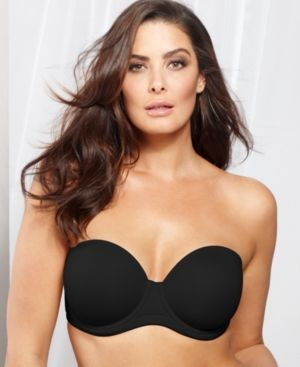 b4dc8ac3ac76e Wacoal Red Carpet Full Figure Strapless Bra 854119 - Black 30DDD