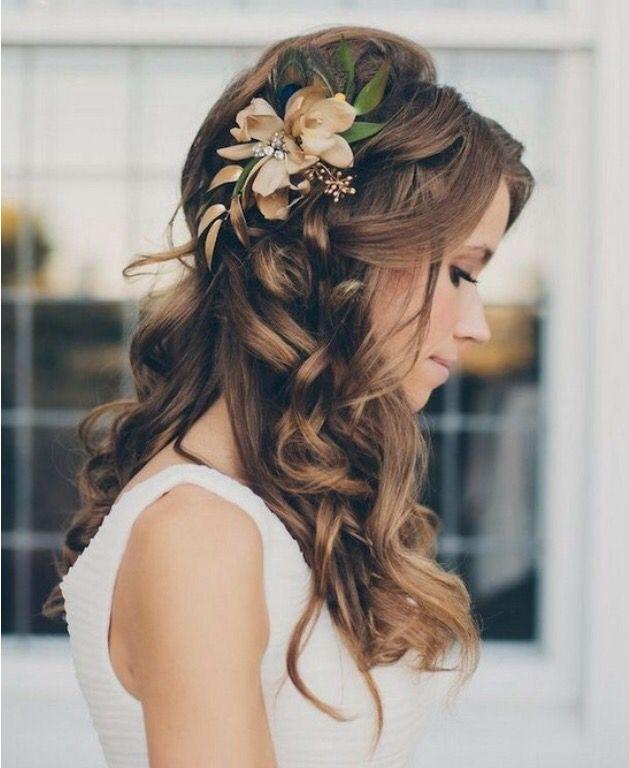 Pin By Alanis Bondio On Quinceanera Hair Wedding Hair Down