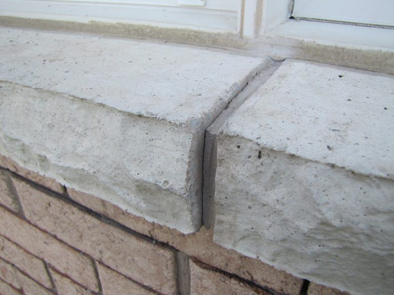 Window Sill Mortar Cracks Repair How To Window Sill Mortar Repair Mortar
