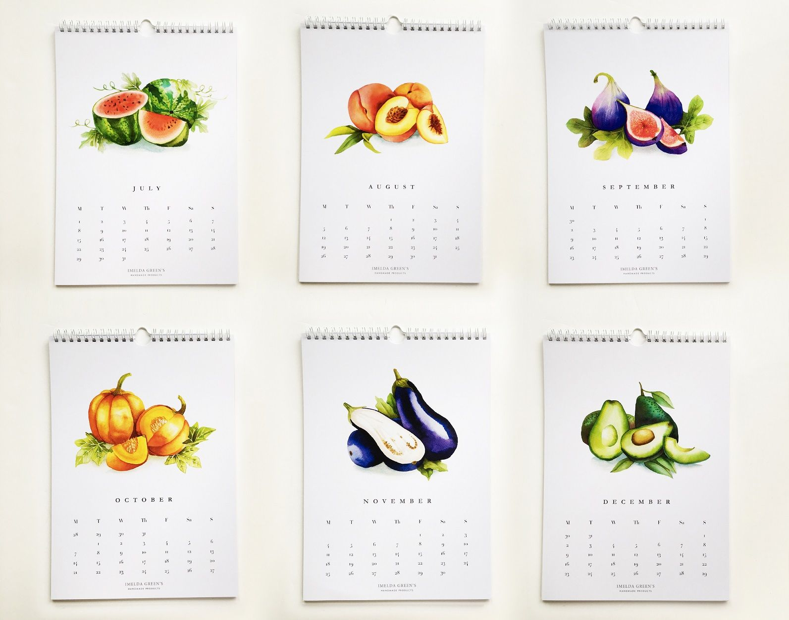 Veggies Printable Monthly Calendar 2020 Vegetables And Fruit