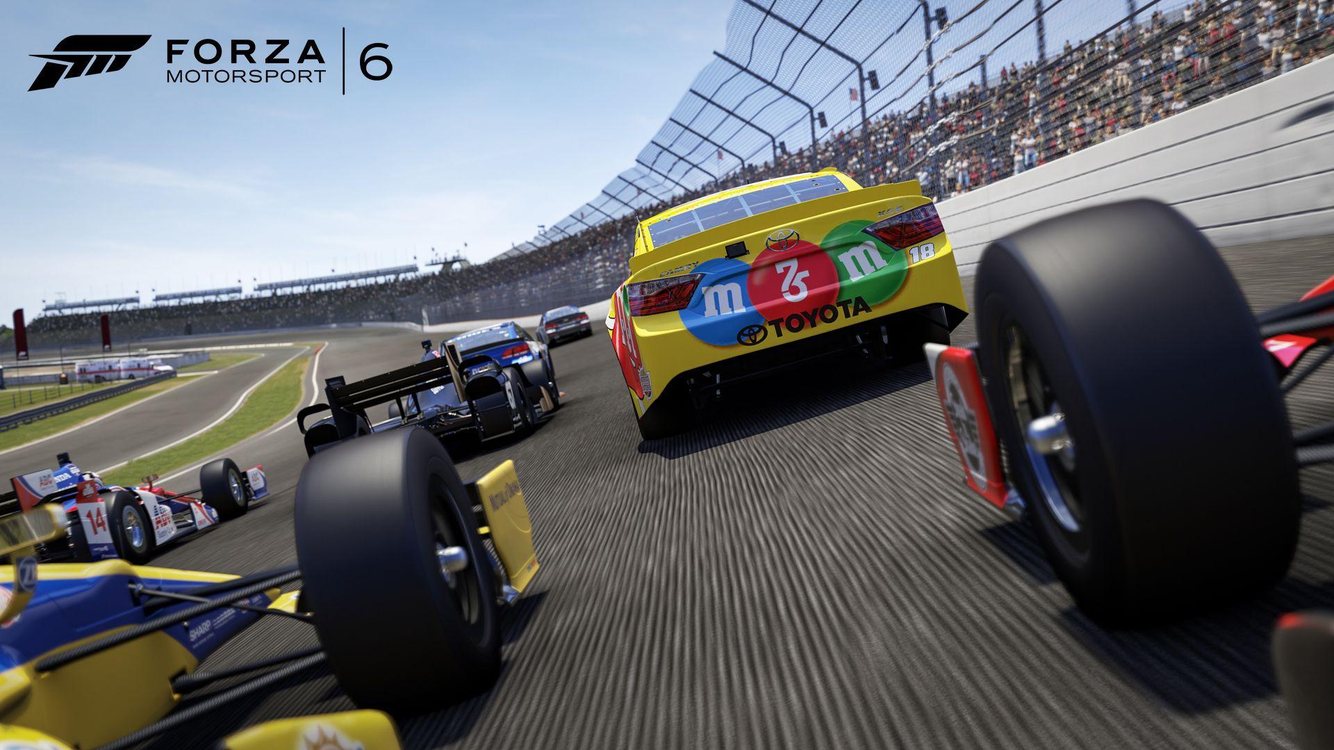Forza Motorsport 6 NASCAR expansion released KeenGamer