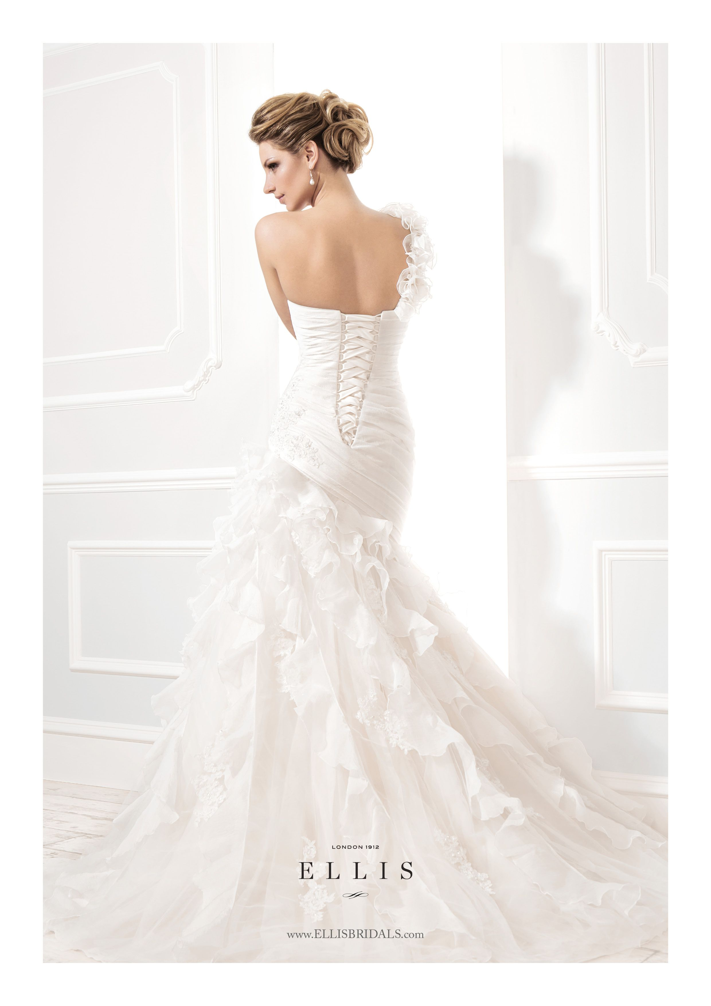 Ellis Bridals Wedding Dress 11391 To See Our Bridal Collection Visit Http Www Lovethatfrock The Bride Dresses Designer 24