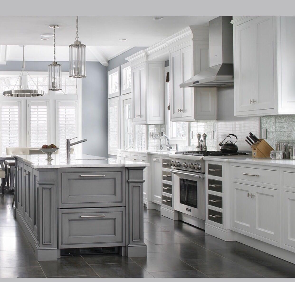 image by on kitchen ideas white kitchen design grey kitchen designs gray and white kitchen on kitchen decor grey cabinets id=31860