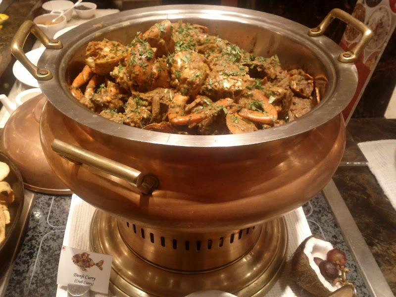 Crab Curry Konkani Food Festival Itc Grand Central Food