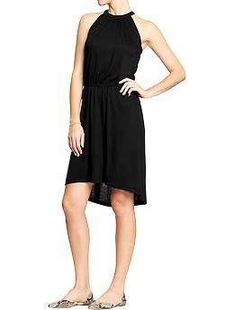 Women S Suspended Neck Jersey Dresses Old Navy Dresses