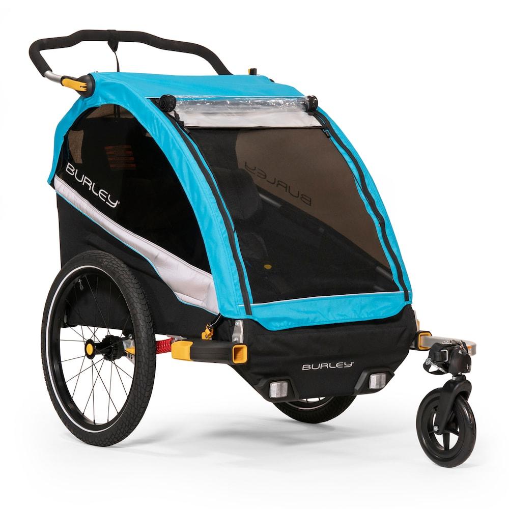 Burley D'Lite X Kids Bike Trailer & Double Stroller Kids