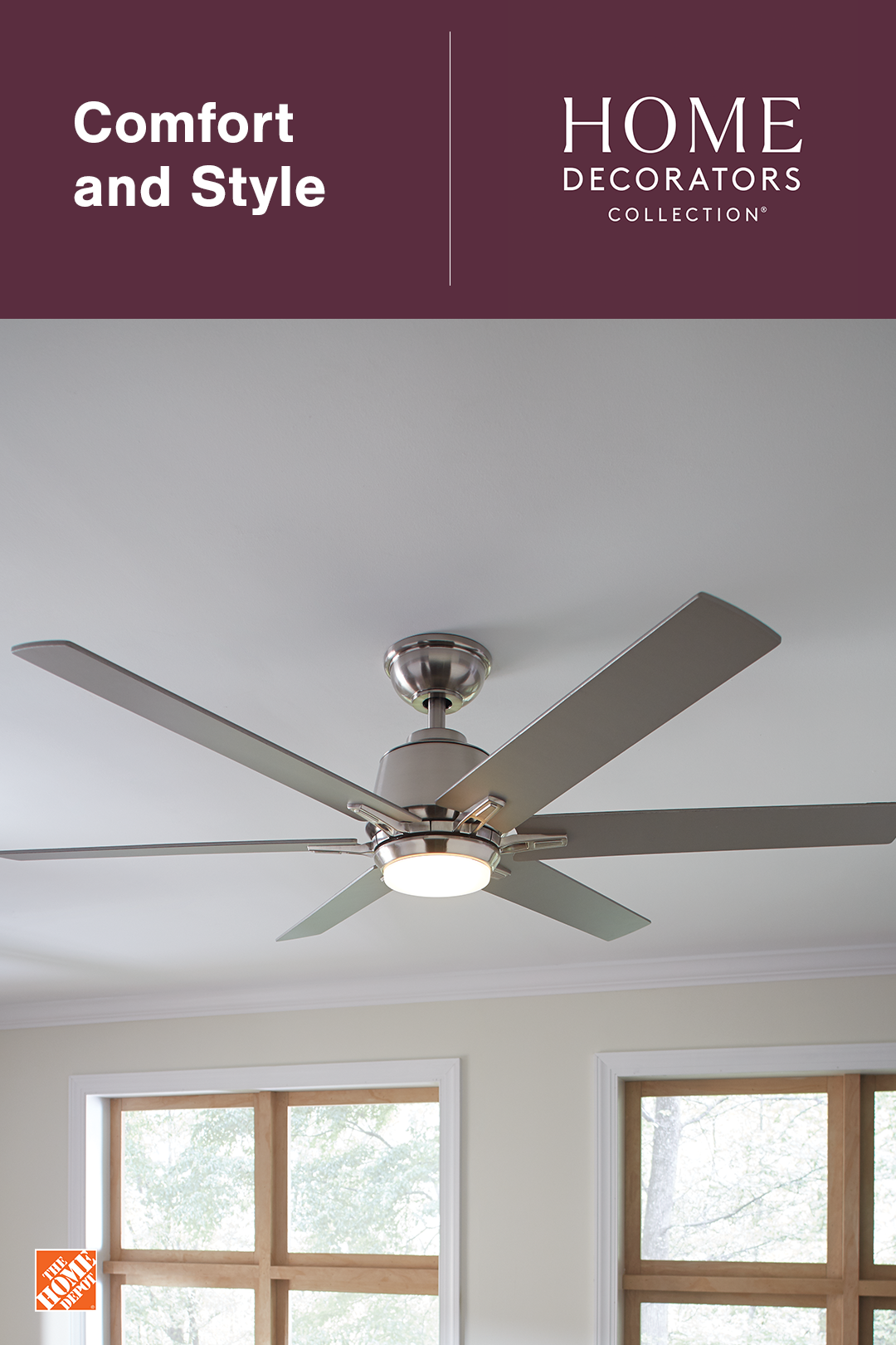 Explore Our Wide Selection Of Ceiling Fans Online At The Home Depot Whether Your Style Is Farmhouse Modern Vi Ceiling Fan Family Room Decorating Lamp Decor