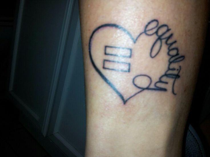 Equality Tattoo Designs Equality Tattoo Tattoos Pinterest Tattoos Tattoo Script Equality Tattoos