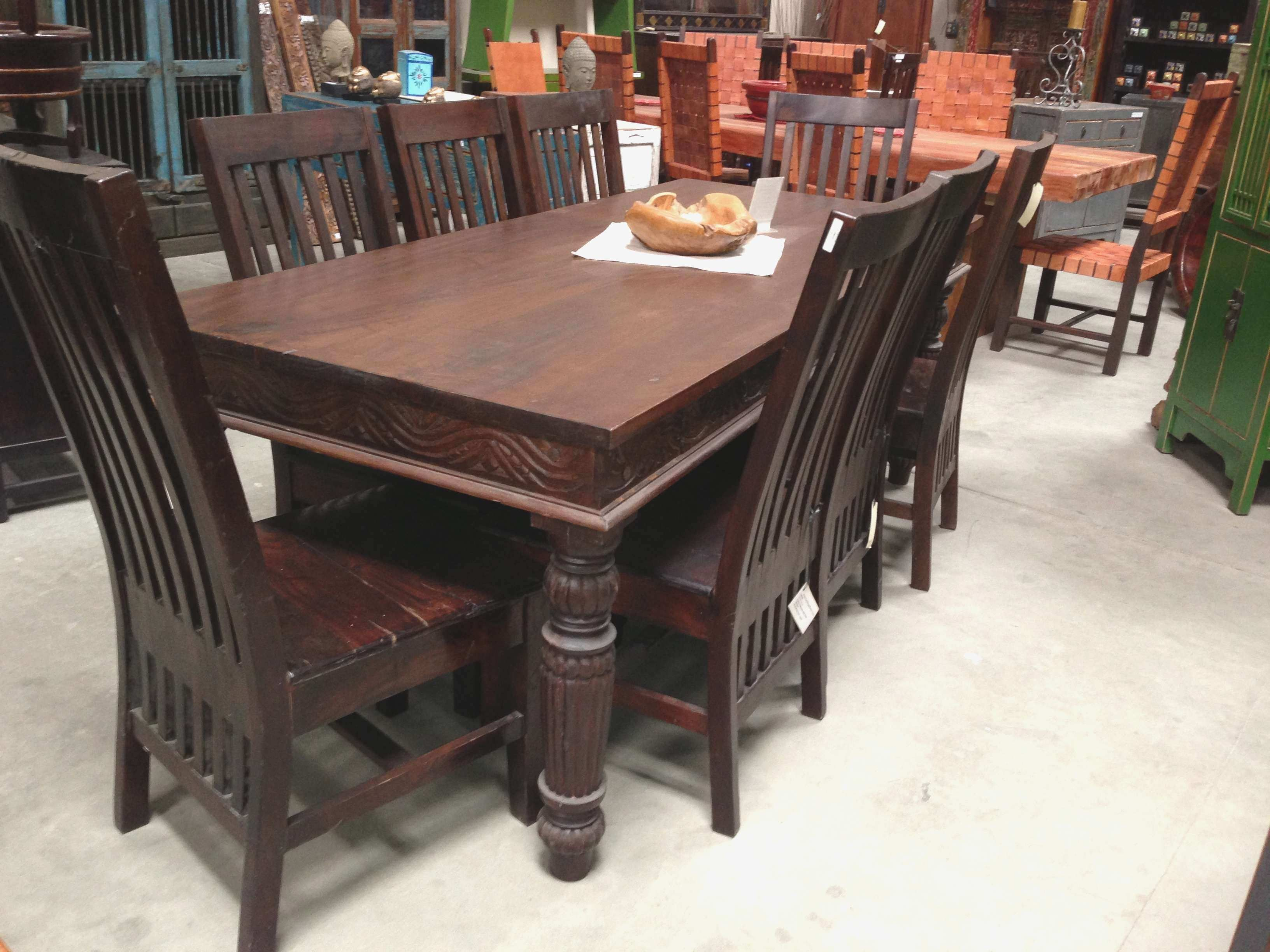 Indian Wood Dining Room Furniture Wood Dining Room Furniture