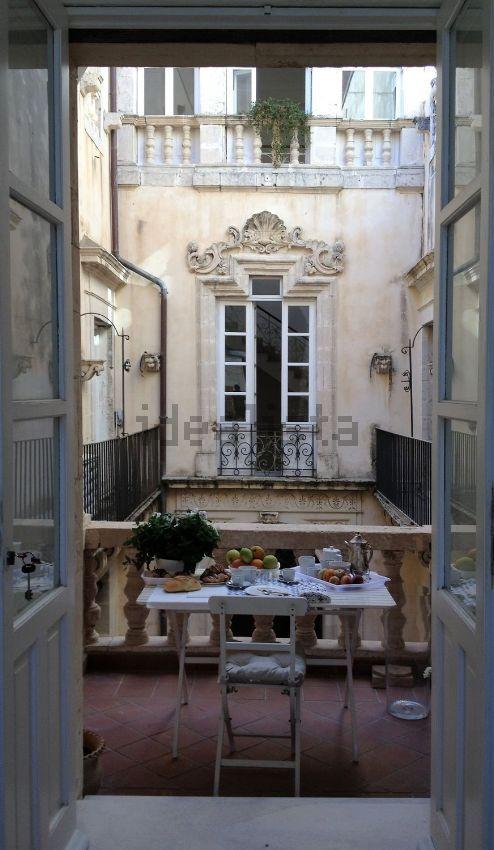 Breakfast in Ortigia, Siracusa Italy. Sicilia