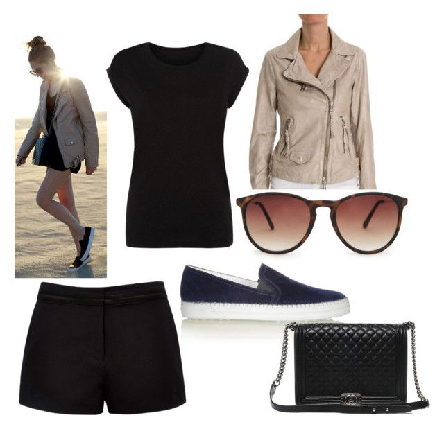 """""""#209"""" by isafl ❤ liked on Polyvore featuring beauty, Forever New, Unfleur, Tod's, Chanel and MANGO"""