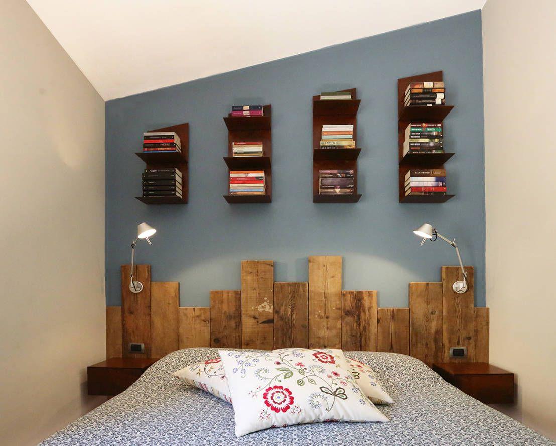 comment décorer un mur trop vide?   testata del letto, camera da ... - Arredare Camera Da Letto Fai Da Te