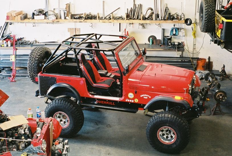 Image Result For Jeep Cj7 Roll Cage