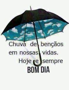 mensagem de bom dia com chuva - chuva de bençaos em nossas vidas