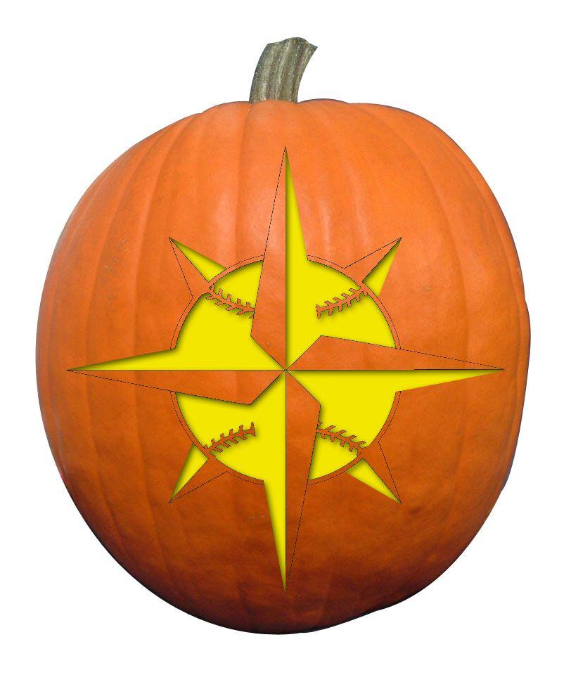 Mariners starball | Light It Up - Halloween Pumpkin Ideas ...