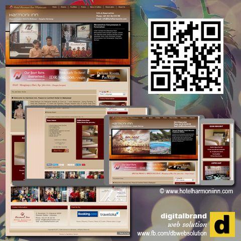 Website Hotel Website Yang Dirancang Unik Sebagai Web Promosi Hotel Sekaligus Web Company Profile Traveloka Solutions Desktop Screenshot