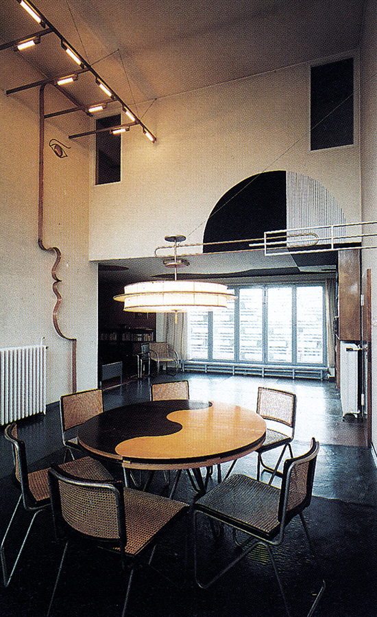 Adolf Rading, Casa Rabe Interior, 19281930 Bauhaus