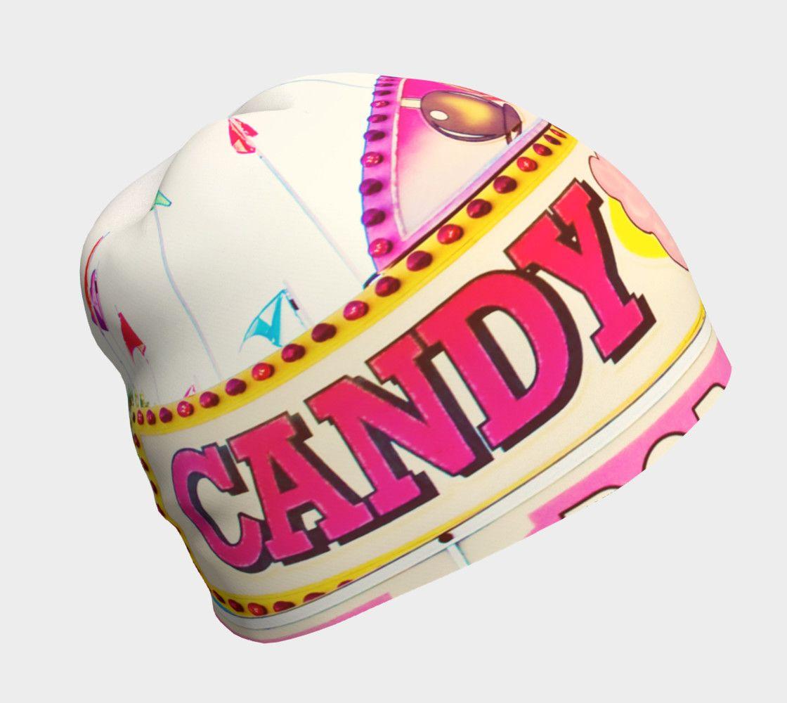 Candy land beanie candyland beanie soft fabrics