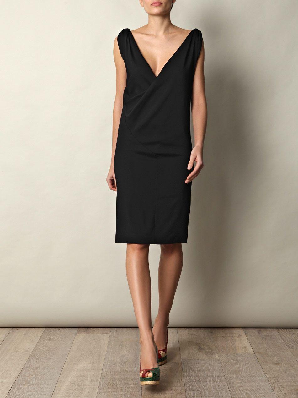 Balenciaga Knot Shoulder Dress - Matches Fashion