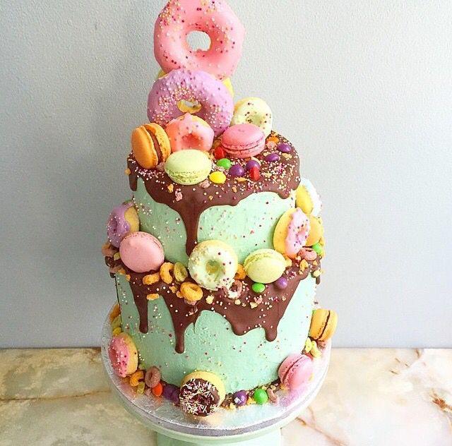 Fun Sweet Themed Wedding Cake Cakes Pinterest Themed Wedding